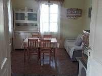 obytná kuchyně - chalupa k pronájmu Vřesník