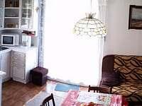 odleva koupelna - kuchyňský kout - obývací kout