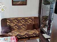 přistýlka pro pátou osobu - rozkládací gauč v přízemí