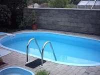 Bazén u Privátu Olga v Železnici - apartmán ubytování Železnice