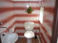 WC - pronájem chalupy Doubravice