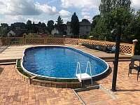 bazén - pronájem chalupy Drahotice