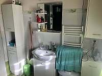 koupelna - chalupa k pronájmu Drahotice