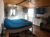 ložnice v přízemí 1 - chalupa ubytování Drahotice