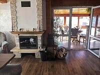 obývací pokoj - pronájem chalupy Drahotice