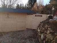 sauna - pronájem chalupy Drahotice
