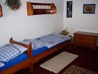 Selský pokojík č. 3 - pro 3 - 4 hosty - 2 lůžka + rozkl. dvougauč - /cca 18 m/