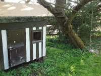 dětský domeček s houpačkou - chalupa ubytování Libošovice - Malá Lhota