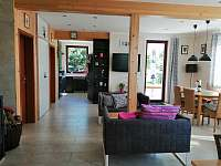 Obývací místnost přízemí
