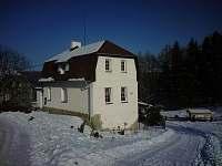 i v zimě je tam krásně - chalupa ubytování Radimovice