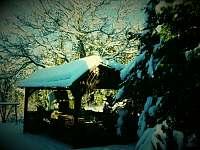 Kouzlo zimy v udoli - chalupa k pronájmu Radimovice