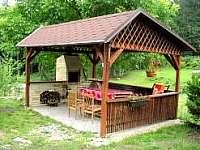 pergola - chalupa ubytování Radimovice