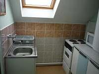 Kuchyňský kout v 1 patře