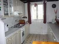 Plně vybavená kuchyň
