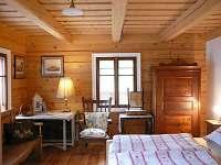 ložnice přízemí - chalupa ubytování Malá Skála