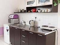 kuchyň apartmán - chalupa k pronajmutí Doubravice - Hrubá Skála
