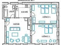 Samostatný byt 3+1 ve východní části objektu - Sobotka - Trní