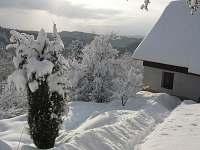 Zima na chalupě - Záborčí - Malá Skála