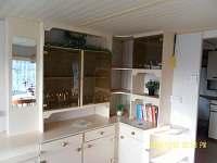 obývací pokoj - pronájem chaty Leština