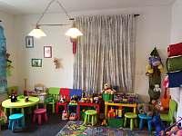 Dětský koutek - apartmán k pronajmutí Ktová