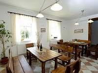 Společenská místnost - pronájem apartmánu Ktová