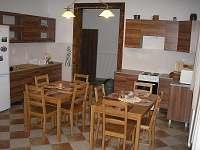 Společná kuchyně - apartmán ubytování Ktová