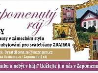 Vila Zapomenutý ráj - vila ubytování Uhlíře - 5