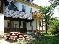 Dům terasa Mala Skala - chalupa k pronájmu Malá Skála