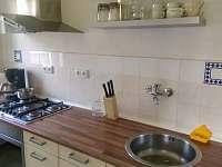Kuchyň apartmán Kopretinka - chalupa ubytování Malá Skála