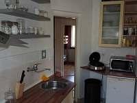 Kuchyň apartmán Kopretinka - chalupa k pronájmu Malá Skála