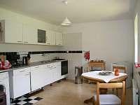 Kuchyň apartmán Zvonek - chalupa k pronajmutí Malá Skála