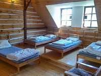 Ložnice apartmán Kopretinka - chalupa k pronájmu Malá Skála