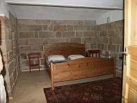 Ložnice apartmán Zvonek - pronájem chalupy Malá Skála