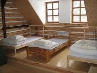 Velká ložnice Malá Skála - chalupa k pronájmu