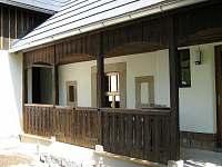 Veranda Malá Skála - chalupa ubytování Malá Skála