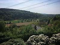 výhled na Dolánky - chata k pronajmutí Bukovina