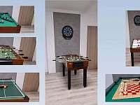 Hrací stůl a šipky - Olešnice - Pohoří