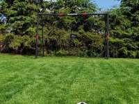 sportovní hřiště přímo na zahradě v těsné blízkosti domu - Olešnice - Pohoří