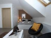 Apartmány český ráj ložnice