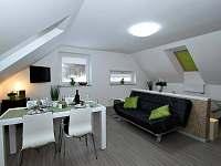 Vrchní apartmá s obývací částí