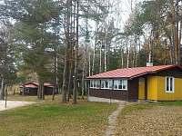 Malá chata, pokoje M1, M2, společná veranda - ubytování Pařezská Lhota