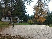 Volejbalové hřiště - chata ubytování Pařezská Lhota