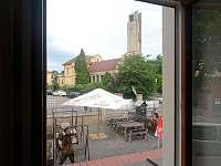 Pokoj č. 5 pohled z okna - Turnov