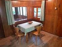 Kuchyň - chata ubytování Rakousy
