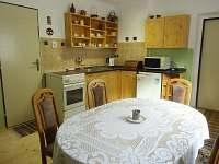 Kuchyň velký apartmán