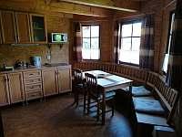 jídelna - chata ubytování Libošovice - Rytířova Lhota