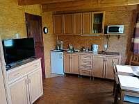 kuchyň - chata k pronájmu Libošovice - Rytířova Lhota