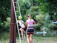 Tip na výlet-lanové centrum u Žluté Plovárny - Kopanina