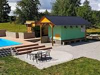 Penzion na horách - dovolená  Komárovský rybník rekreace Dobšín - Kamenice