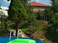 Bazén, zahrada